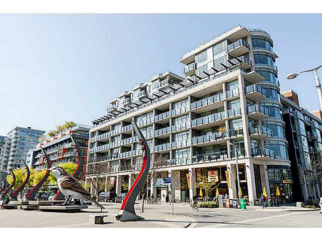 Main Photo: 606 1625 Manitoba Street in Vancouver: False Creek Condo for sale (Vancouver West)