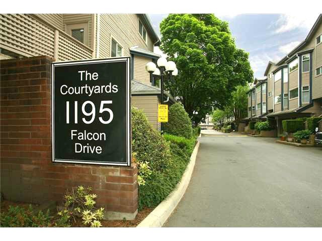 "Main Photo: 47 1195 FALCON Drive in Coquitlam: Eagle Ridge CQ Townhouse for sale in ""Courtyards"" : MLS® # V1012695"