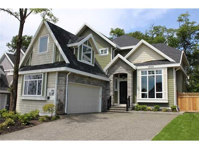 Main Photo: 15561 80A Avenue in SURREY: Fleetwood Tynehead House for sale (Surrey)  : MLS® # F1314505