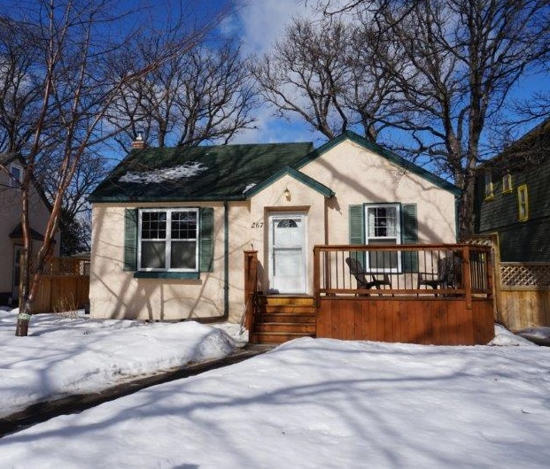 Main Photo: 267 Clare Avenue in : Riverview Single Family Detached for sale (South East Winnipeg)