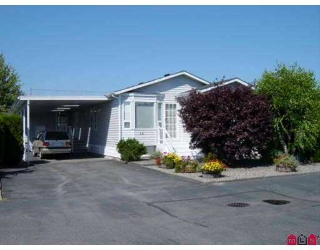 "Main Photo: 14 9055 ASHWELL RD in Chilliwack: Chilliwack  W Young-Well Manufactured Home for sale in ""RAINBOW COMMUNITY ESTATES"" : MLS® # H2502949"