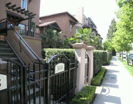 "Main Photo: 3030 W 4TH AV in Vancouver: Kitsilano Townhouse for sale in ""SANTA BARBARA"" (Vancouver West)  : MLS®# V588673"