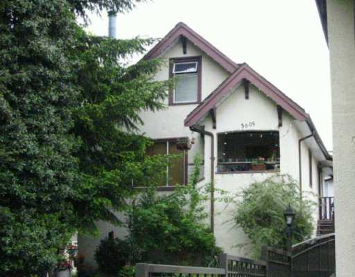 Main Photo: 3605 ADANAC ST in Vancouver: Renfrew VE House for sale (Vancouver East)  : MLS® # V568540