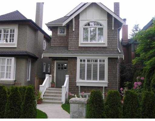 Main Photo: 4273 W 14TH AV in Vancouver: Point Grey House for sale (Vancouver West)  : MLS® # V537241