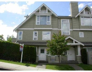 Main Photo: 1545 TRAFALGAR ST in Vancouver: Kitsilano Townhouse for sale (Vancouver West)  : MLS(r) # V538558