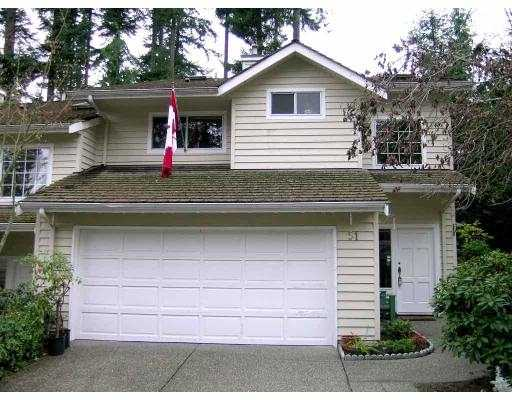 "Main Photo: 51 DEERWOOD PL in Port Moody: Heritage Mountain Townhouse for sale in ""HERITAGE GREEN"" : MLS® # V565627"