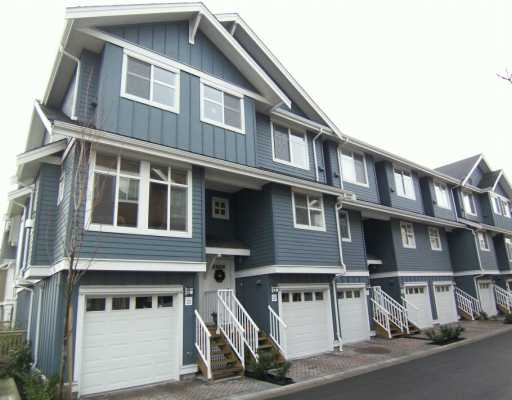 "Main Photo: 935 EWEN Ave in New Westminster: Queensborough Townhouse for sale in ""COOPER'S LANDING"" : MLS® # V628484"