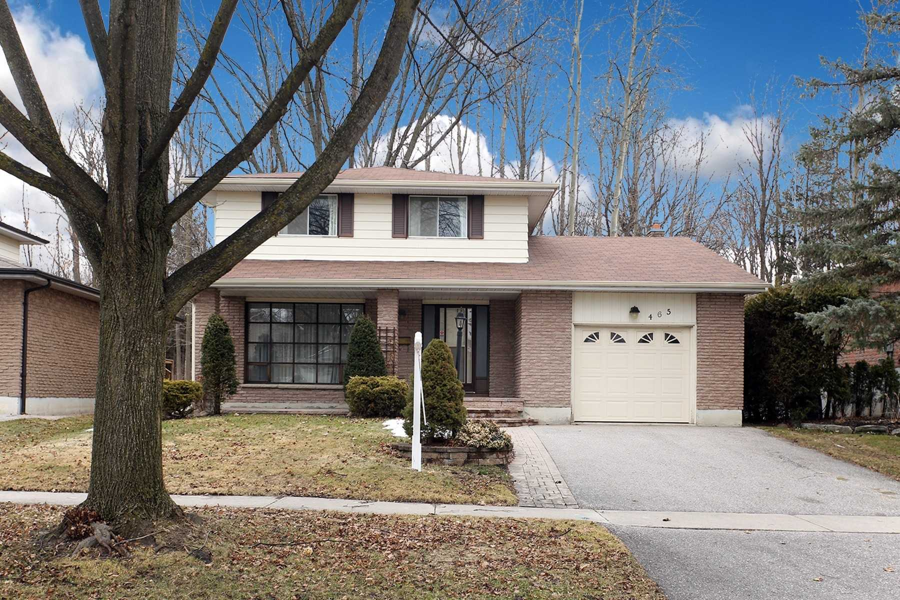 FEATURED LISTING: 465 Paddington Crescent Oshawa