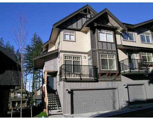 "Main Photo: 55 HAWTHORNE Drive in Port Moody: Heritage Woods PM Townhouse for sale in ""COBALT SKY"" : MLS® # V627680"