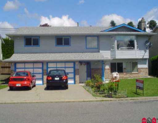 Main Photo: 31271 DEHAVILLAND DR in Abbotsford: Abbotsford West House for sale : MLS® # F2613261