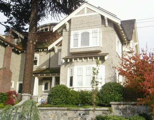 Main Photo: 1720 TRAFALGAR ST in Vancouver: Kitsilano House 1/2 Duplex for sale (Vancouver West)  : MLS® # V563870