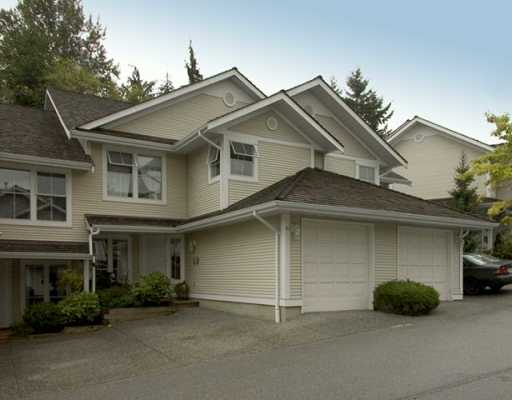 "Main Photo: 10 2590 PANORAMA DR in Coquitlam: Westwood Plateau Townhouse for sale in ""BUCKINGHAM CRT"" : MLS® # V611443"