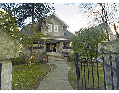 Main Photo: 2468 W 5TH Ave in Vancouver: Kitsilano House 1/2 Duplex for sale (Vancouver West)  : MLS® # V624692