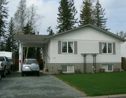 Main Photo: 6389 DRIFTWOOD Road in Prince George: Valleyview House for sale (PG City North (Zone 73))  : MLS(r) # N163035
