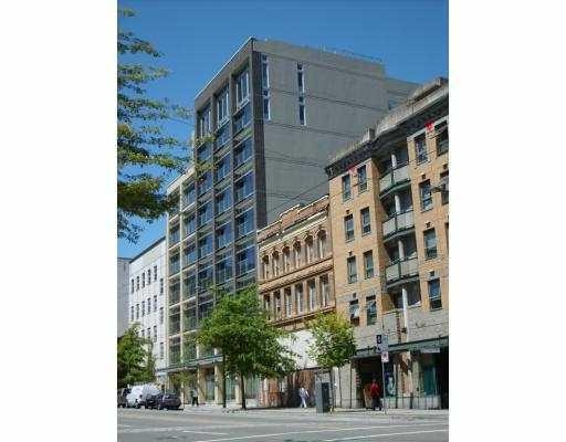 Main Photo: # 301 33 W PENDER ST in Vancouver: Condo for sale : MLS® # V767094