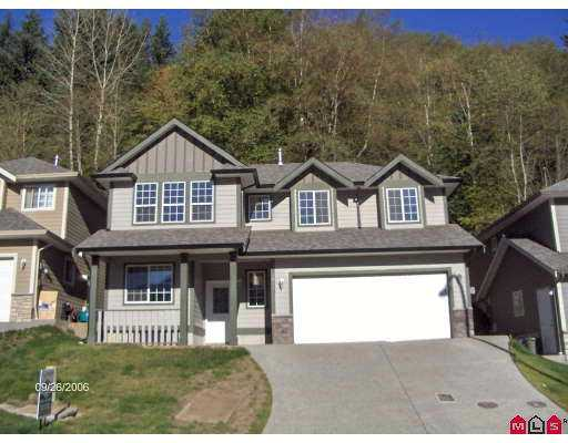 "Main Photo: 4814 TESKEY RD in Sardis: Promontory House for sale in ""CEDAR GROVE ESTATES"" : MLS® # H2603663"
