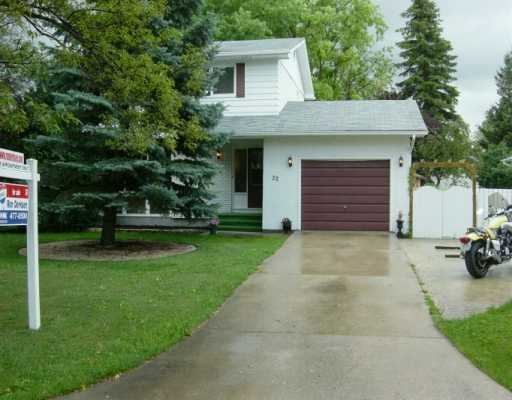 Main Photo: 22 PURDUE Bay in Winnipeg: Fort Garry / Whyte Ridge / St Norbert Single Family Detached for sale (South Winnipeg)  : MLS(r) # 2513946