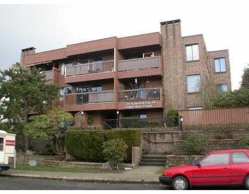 Main Photo: # 201 222 N TEMPLETON DR in Vancouver: Hastings East Condo for sale (Vancouver East)  : MLS(r) # V770091