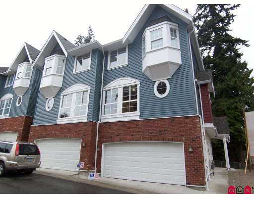 "Main Photo: 4 5889 152 Street in Surrey: Sullivan Station Townhouse for sale in ""Sullivan Gardens"" : MLS® # F2725185"
