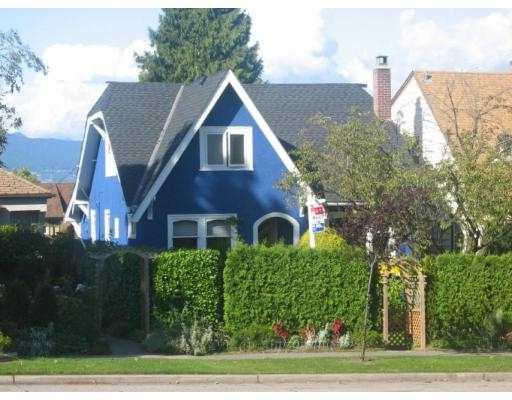Main Photo: 3059 W KING EDWARD Avenue in Vancouver: Dunbar House for sale (Vancouver West)  : MLS® # V683631