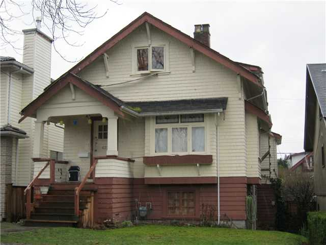 Main Photo: 622 W 20TH AV in Vancouver: Cambie House for sale (Vancouver West)  : MLS® # V869209
