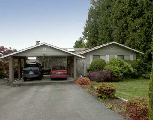 Main Photo: 700 EDGAR AV in Coquitlam: Coquitlam West House for sale : MLS®# V592566