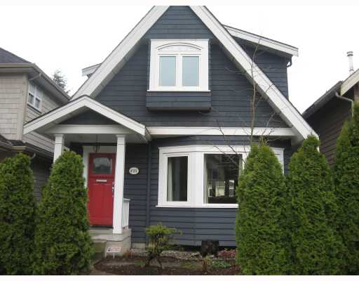 Main Photo: 4581 JAMES Street in Vancouver: Main House for sale (Vancouver East)  : MLS® # V695763