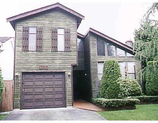 "Main Photo: 10230 HOLLYMOUNT DR in Richmond: Steveston North House for sale in ""HOLLY PARK"" : MLS® # V567714"