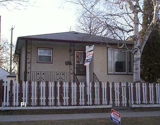 Main Photo: 308 BLAKE Street in WINNIPEG: Brooklands / Weston Single Family Detached for sale (West Winnipeg)  : MLS(r) # 2705134
