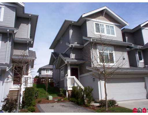 "Main Photo: 16760 61ST Ave in Surrey: Cloverdale BC Townhouse for sale in ""HARVEST LANDING"" (Cloverdale)  : MLS® # F2708269"
