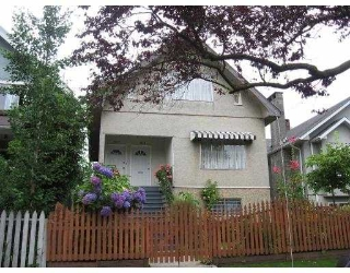 Main Photo: 1617 E 11TH Avenue in Vancouver: Grandview VE House Duplex for sale (Vancouver East)  : MLS®# V671924