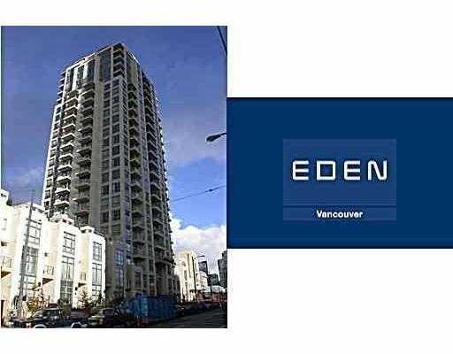 "Main Photo: 1507 1225 RICHARDS Street in Vancouver: Downtown VW Condo for sale in ""EDEN"" (Vancouver West)  : MLS® # V673281"