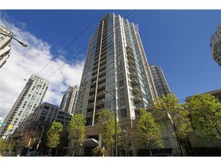 Main Photo: 1509 1010 Richards Street in Vancouver: Yaletown Condo for sale (Vancouver West)  : MLS® # V908567