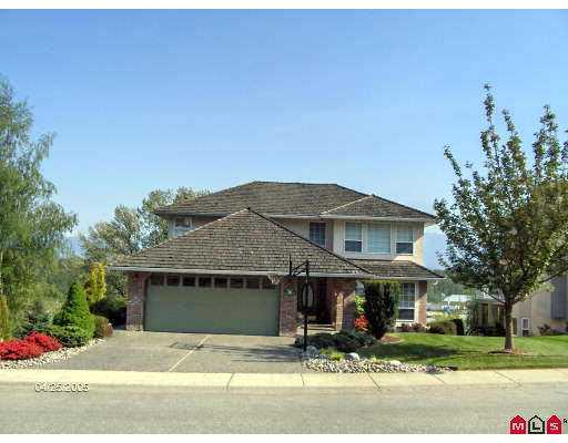 "Main Photo: 8734 SUNRISE DR in Chilliwack: Chilliwack Mountain House for sale in ""SUNRISE ESTATES"" : MLS® # H2501425"