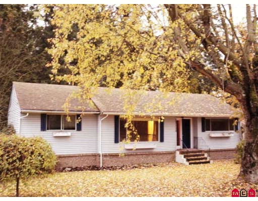 "Main Photo: 12110 56TH Avenue in Surrey: Panorama Ridge House for sale in ""PANORAMA RIDGE"" : MLS® # F2727824"
