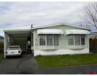 "Main Photo: 2303 CRANLEY Drive in White Rock: King George Corridor Manufactured Home for sale in ""sunnyside"" (South Surrey White Rock)  : MLS®# F2705591"