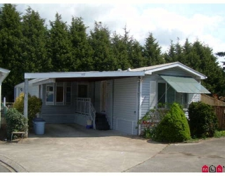 "Main Photo: 107 2062 KING GEORGE Highway in Surrey: King George Corridor Manufactured Home for sale in ""Park Lane"" (South Surrey White Rock)  : MLS®# F2813149"
