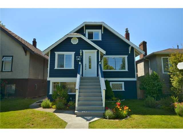 Main Photo: 4791 Gladstone Street in Vancouver: Victoria VE House for sale (Vancouver East)  : MLS(r) # V898046