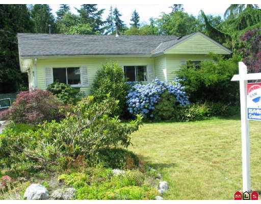 Main Photo: 12678 24TH Avenue in White_Rock: Crescent Bch Ocean Pk. House for sale (South Surrey White Rock)  : MLS® # F2717300