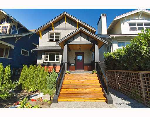 Main Photo: 3261 W 2ND Avenue in Vancouver: Kitsilano House 1/2 Duplex for sale (Vancouver West)  : MLS(r) # V669951