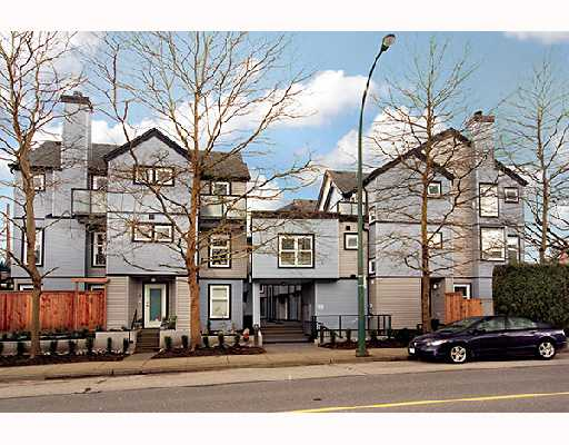 "Main Photo: 17 888 W 16TH Avenue in Vancouver: Cambie Townhouse for sale in ""LAUREL MEWS"" (Vancouver West)  : MLS® # V697834"