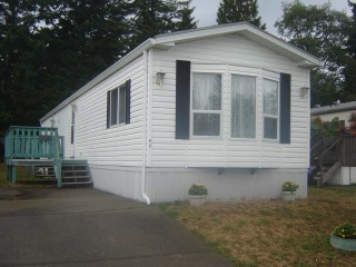 Main Photo: 390 COWICHAN AVE in COURTENAY: Manufactured/Mobile for sale (#42)  : MLS® # 304122