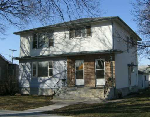 Main Photo: 1021 BOYD Avenue in WINNIPEG: North End Duplex for sale (North West Winnipeg)  : MLS(r) # 2705834