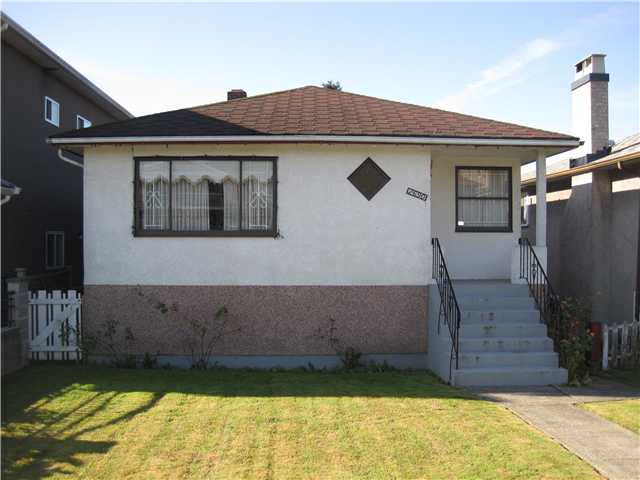 Main Photo: 2690 E 6TH AV in Vancouver: Renfrew VE House for sale (Vancouver East)  : MLS® # V905823