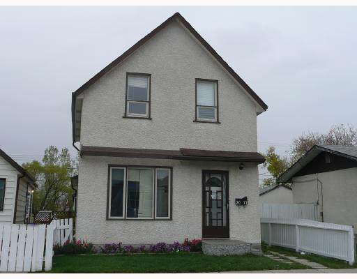 Main Photo: 2077 GALLAGHER Avenue in WINNIPEG: Brooklands / Weston Single Family Detached for sale (West Winnipeg)  : MLS®# 2717955