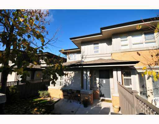"Main Photo: 24 6300 BIRCH Street in Richmond: McLennan North Townhouse  in ""SPRINGBROOK"" : MLS(r) # V796357"