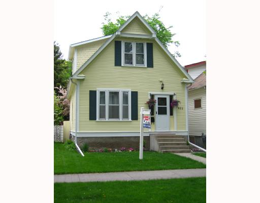 Main Photo: 931 SHERBURN Street in WINNIPEG: West End / Wolseley Residential for sale (West Winnipeg)  : MLS(r) # 2809206