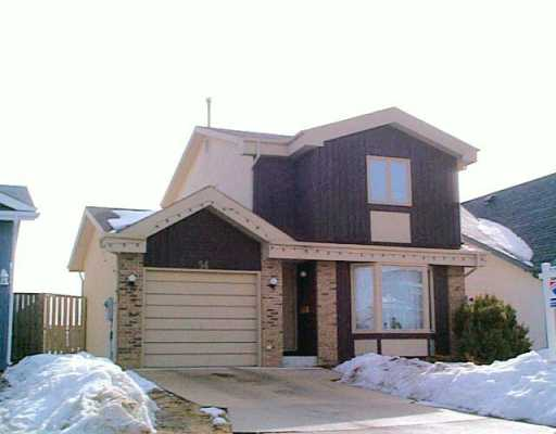 Main Photo: 54 SMUGGLER'S Cove in Winnipeg: Windsor Park / Southdale / Island Lakes Single Family Detached for sale (South East Winnipeg)  : MLS® # 2603969
