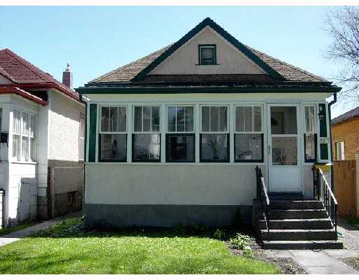 Main Photo: 317 LIPTON Street in WINNIPEG: West End / Wolseley Residential for sale (West Winnipeg)  : MLS® # 2808540