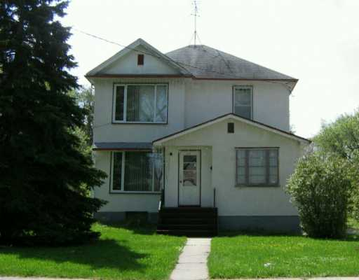 Main Photo: 310 ANDERSON Avenue in Winnipeg: North End Single Family Detached for sale (North West Winnipeg)  : MLS(r) # 2608749